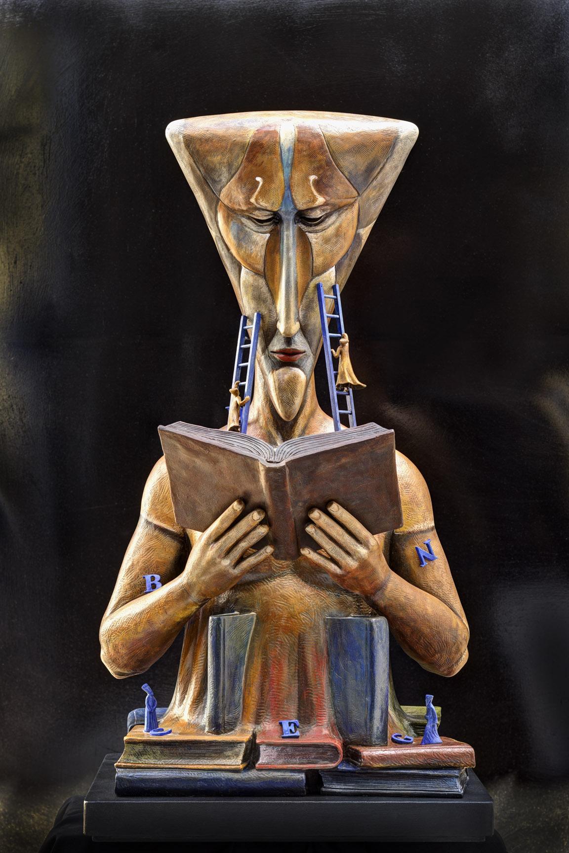 EL LECTOR, Galeria Sergio Bustamante - Sitio Oficial